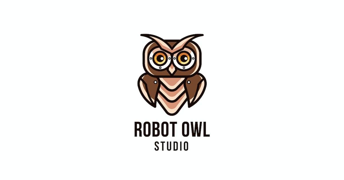 Download Robot Owl Studio Logo Template by IanMikraz