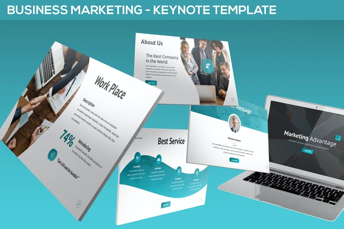 Thumbnail for Business Marketing - Keynote Template