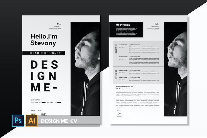 Thumbnail for Concevez moi   CV & CV