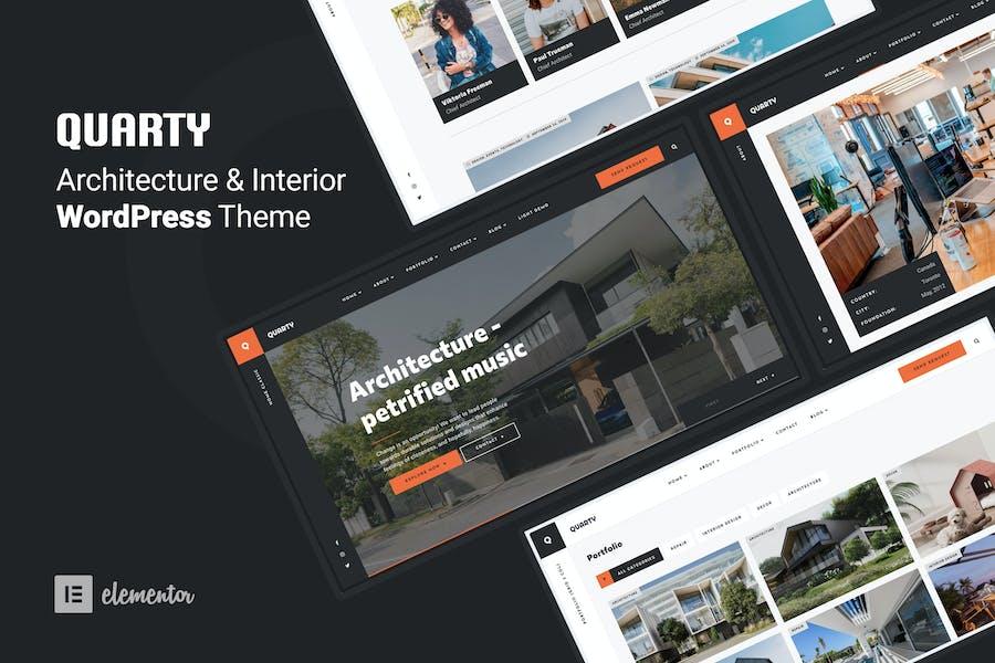 Quarty - Architecture & Interior Design Theme