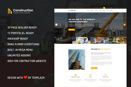 Construction - Building & Architect Template