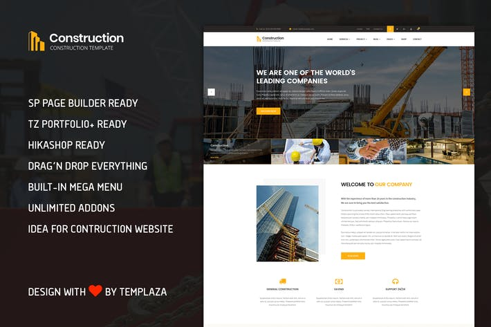 Construction - Building & Architect Template