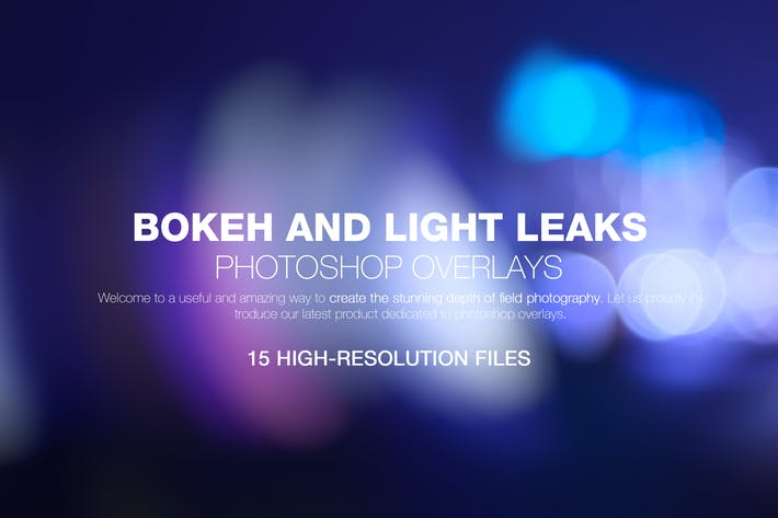 Thumbnail for Bokeh & Light Leaks Backgrounds