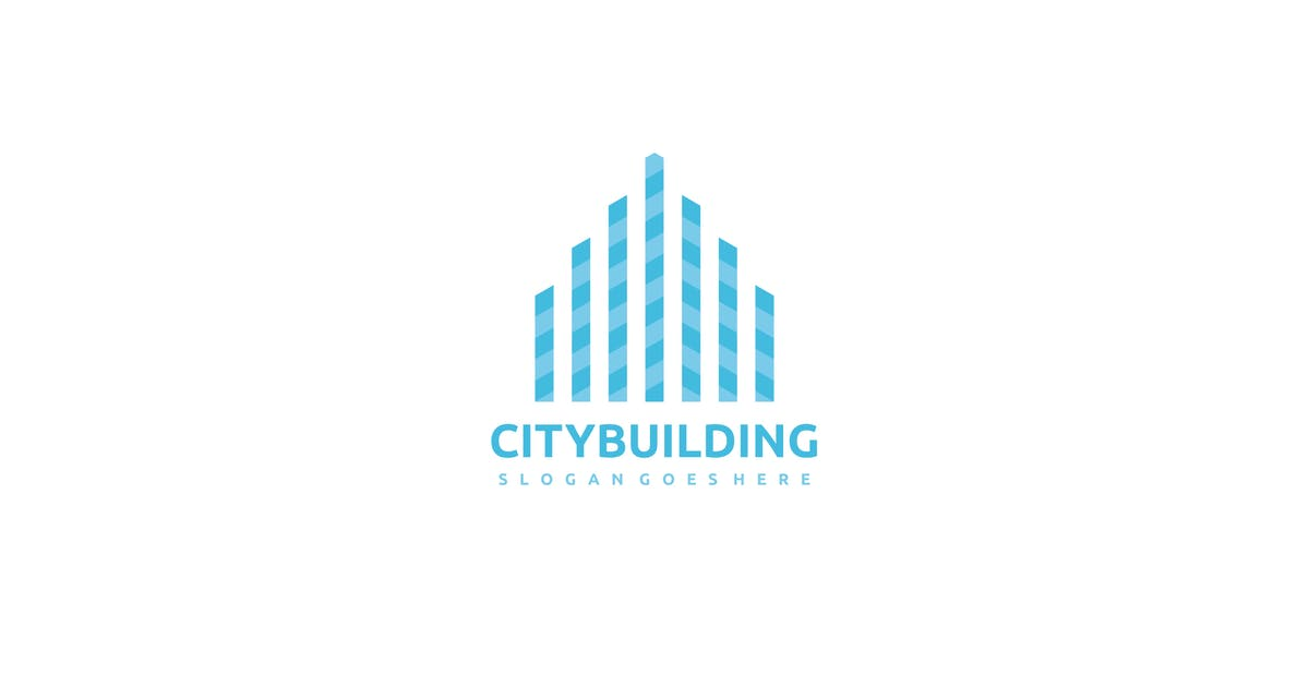 Download City Building Logo by 3ab2ou