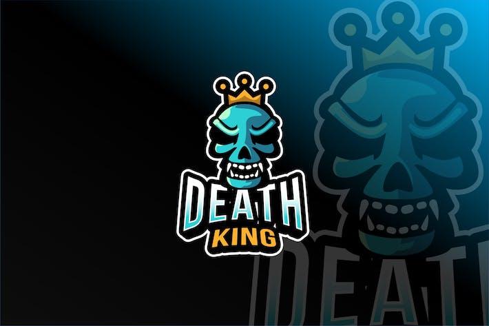 Thumbnail for Death King Esport Logo Template