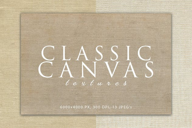 Classic Canvas Textures