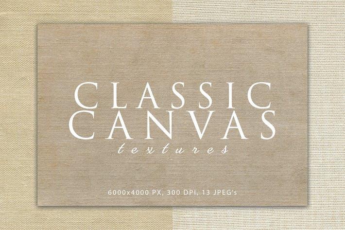 Klassische Leinwand-Texturen