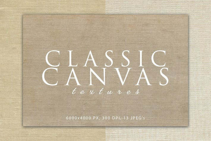 Thumbnail for Klassische Leinwand-Texturen