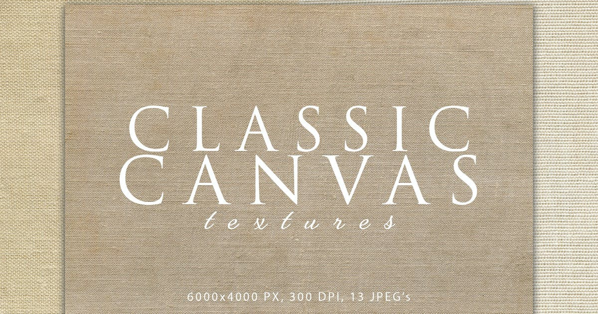 Download Classic Canvas Textures by M-e-f