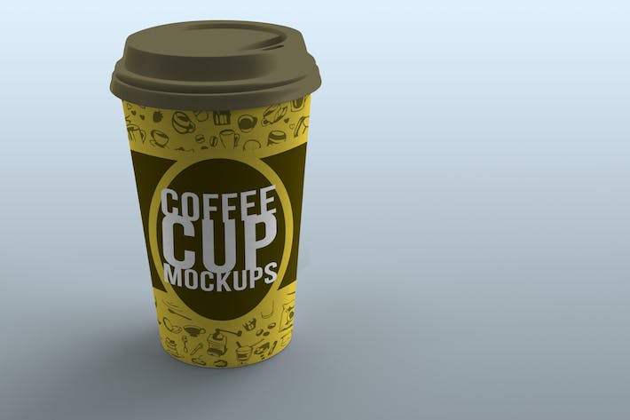 Thumbnail for Coffee Cup Product Mockups