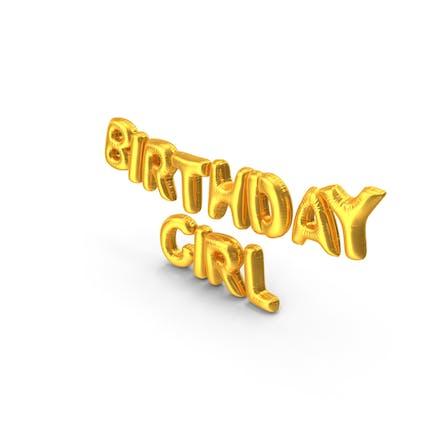 Birthday Girl Luftballons