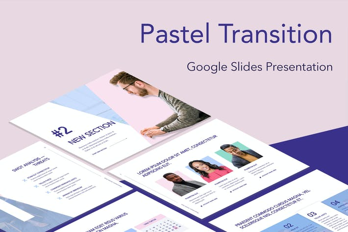 Pastel Transition Google Slides Template