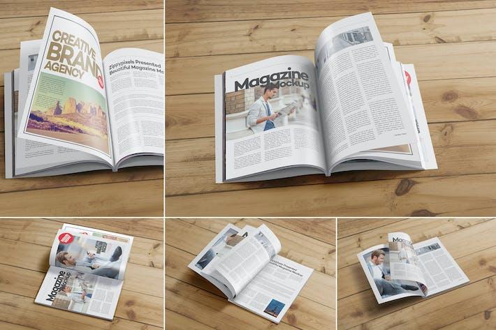 Thumbnail for Mockups de Revista PSD