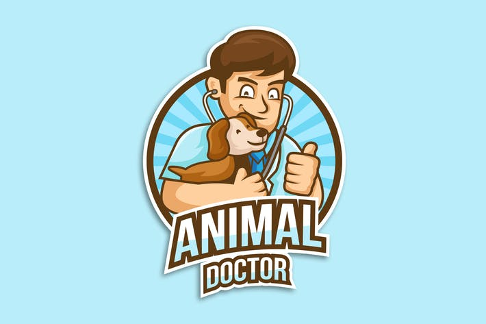 Thumbnail for Professional Veterinary Doctor Logo Vector