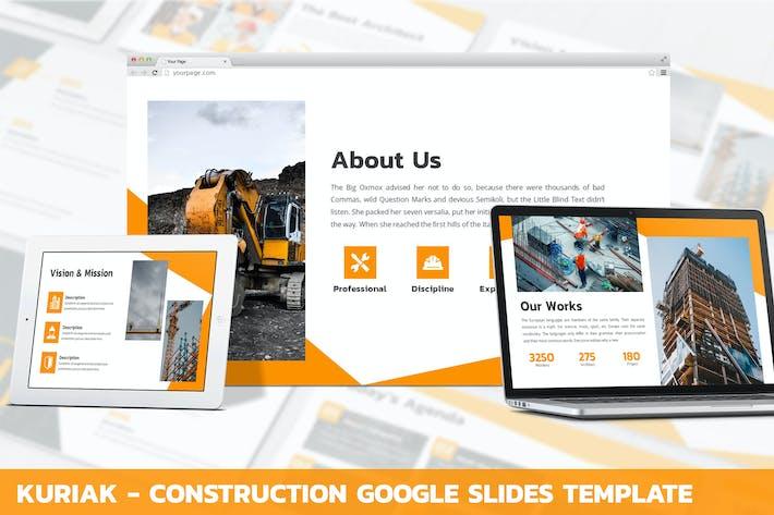 Thumbnail for Kuriak - Konstruktion Google Slides Vorlage