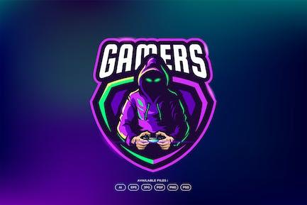 Gamer Hacker Logo