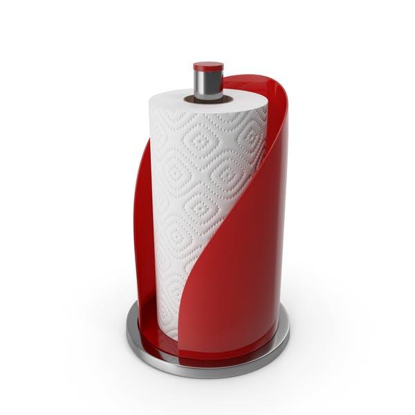Towel Holder Red