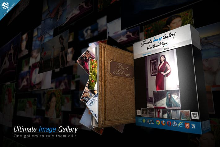 Cover Image For Ultimate Image Gallery Wordpress Plugin