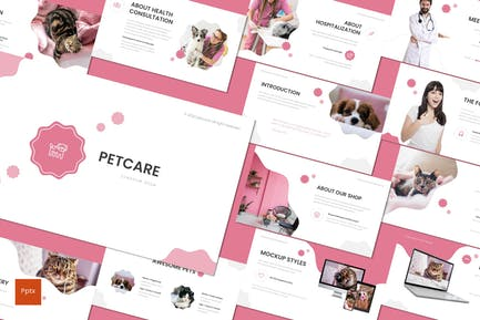 Petcare - Powerpoint Template