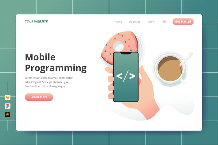 Thumbnail for Mobile Programming - Landing Page