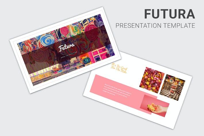 Thumbnail for Futura - Candy Pop Theme Pitch Deck Keynote