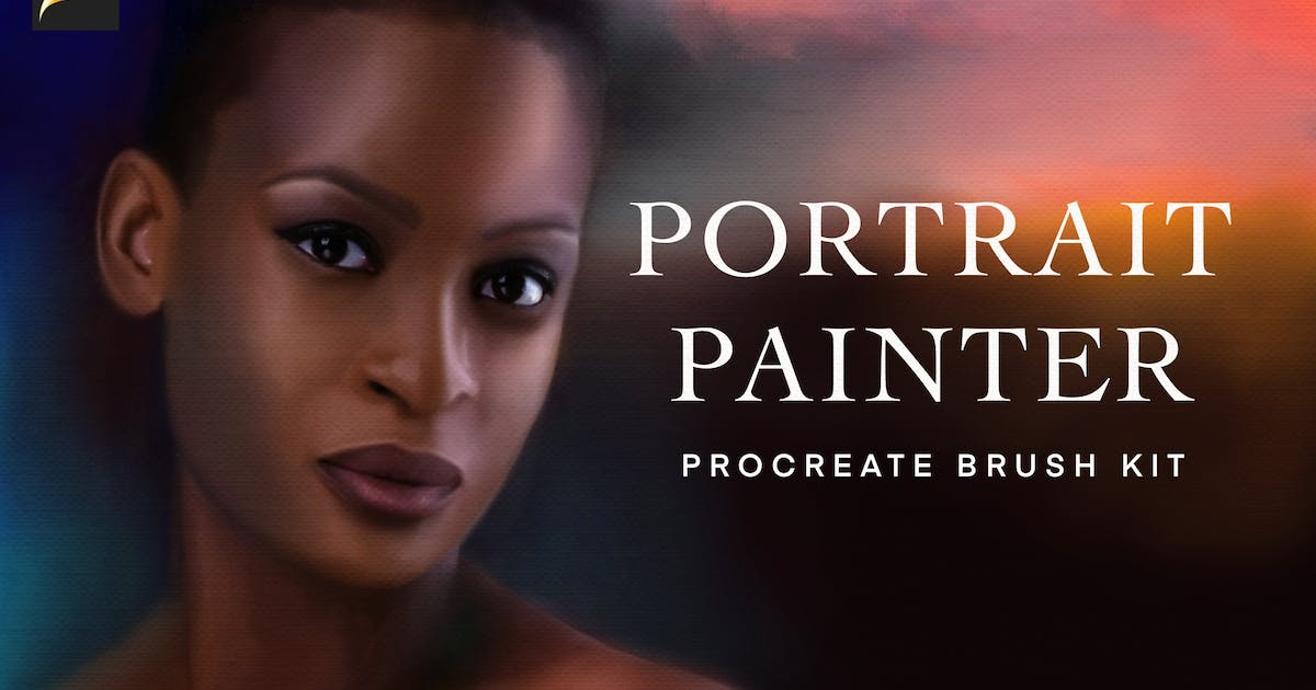 Download Procreate Portrait Painting Brushes by melrodicq