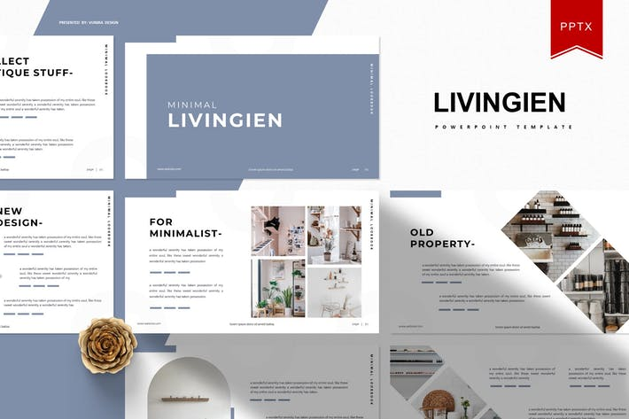 Cover Image For Livingien | Powerpoint Template