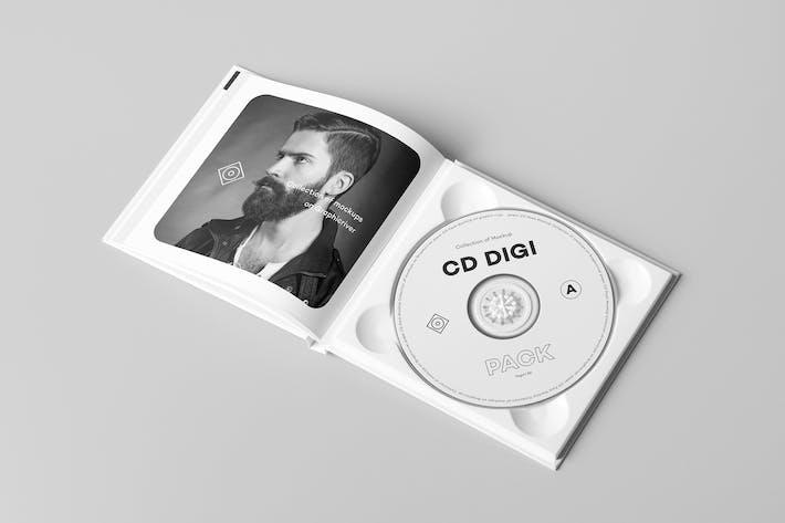 Thumbnail for CD Digi Pack Mock-up 6