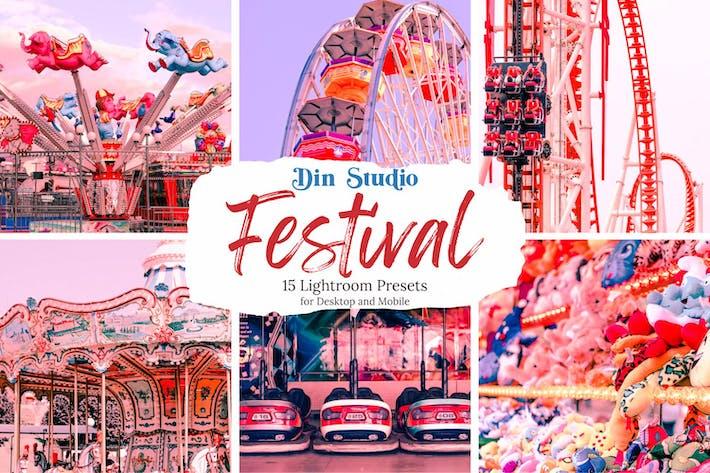 Thumbnail for Festival Lightrooom Presets