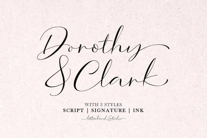 Thumbnail for Dorothy Clark Script