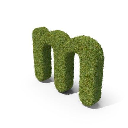 Grass Kleinbuchstabe M