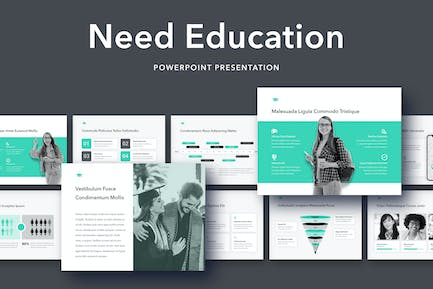 Need Education PowerPoint Template