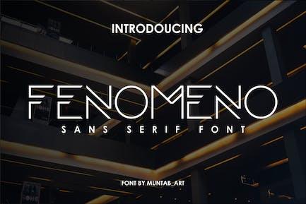 Fenomeno | Futurista Fuente