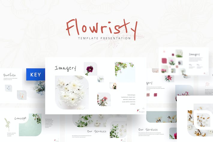 Flowristy - Keynote Template