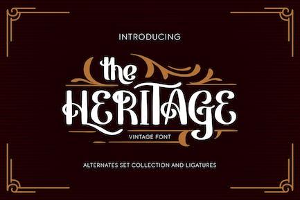 Heritage | Fuente Vintage