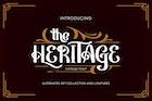 Heritage | Vintage Font