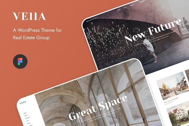Vella - Real Estate Group UI Template