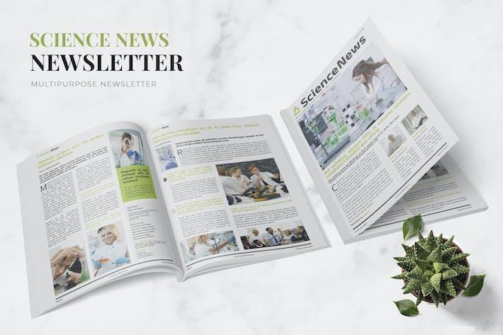 Thumbnail for Science Info Newsletter