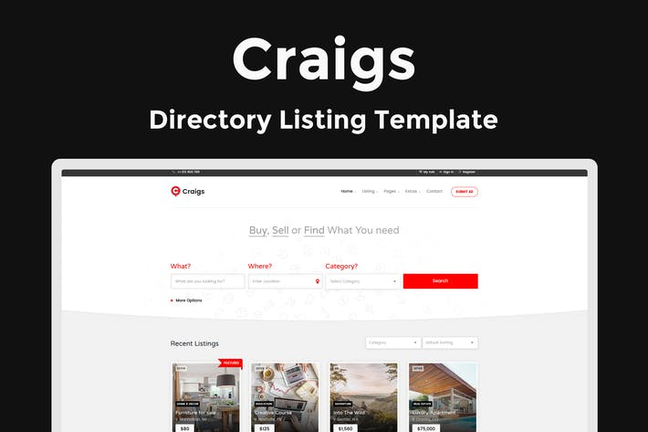 Thumbnail for Craigs - Directory Listing Template