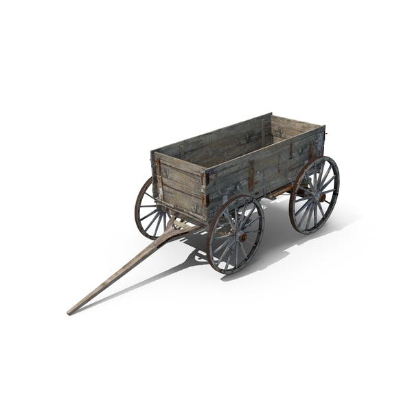Thumbnail for Old Wooden Wagon