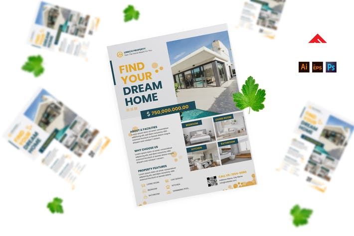 Home Property Listing Flyer