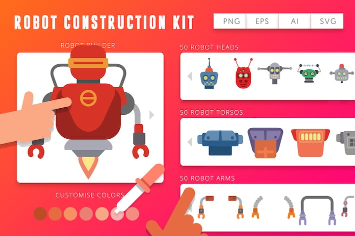 Thumbnail for Robot Construction Kit - Unlimited