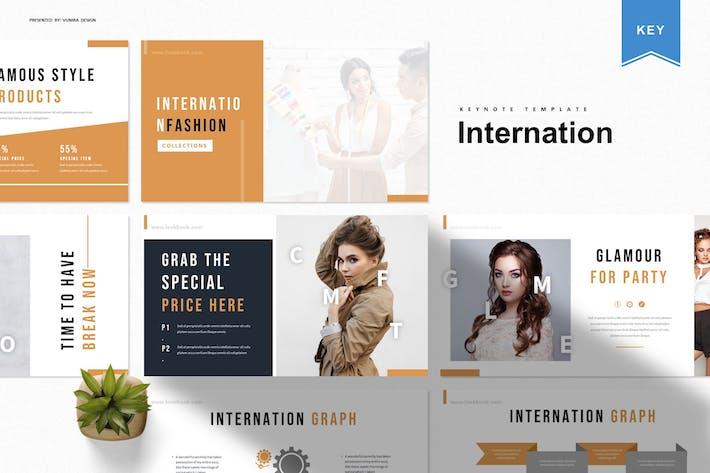 Internation | Keynote Template