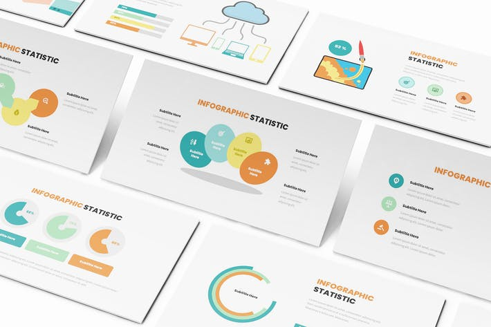 Statistic Infographic Google Slides Template