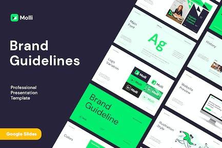 MOLLI - Brand Guidelines Google Slides