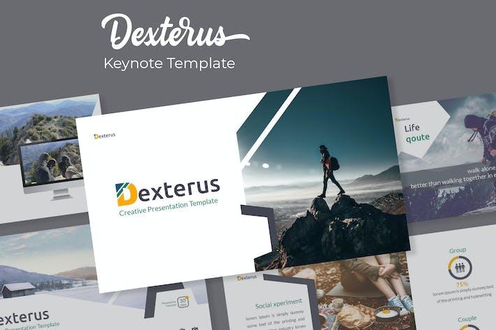 Thumbnail for Dexterus - Plantilla de Keynote