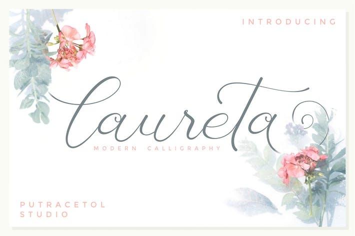 Thumbnail for Laureta - Modern Calligraphy