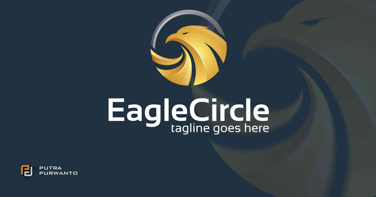 Download Eagle Circle - Logo Template by putra_purwanto