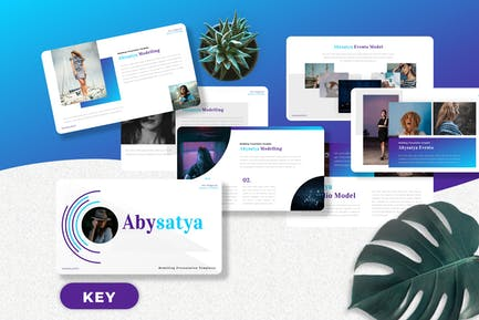 Abysatya - Modelling Keynote Templates