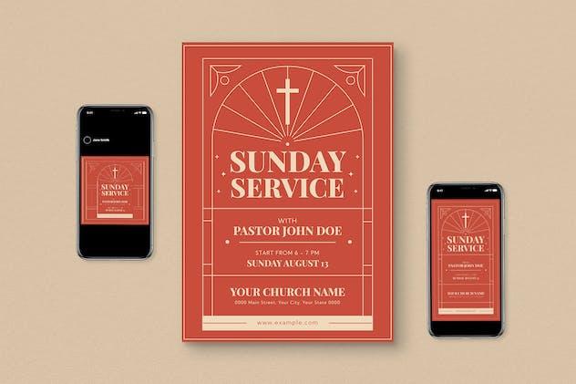 Sunday Service Flyer Pack